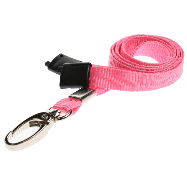 Breakaway Lanyards with Metal Lobster Clip