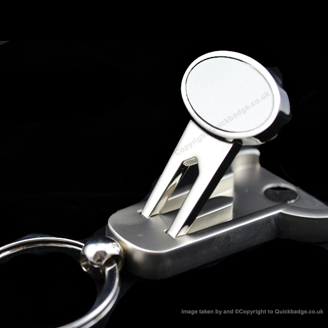Engraved Golf Marker Keyring