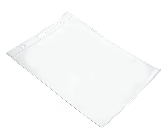 VINYL A6 CLEAR CARD HOLDER 107 X 156 MM PORTRAIT