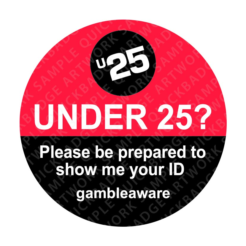 Challenge 25 Pin Badges - gambleaware