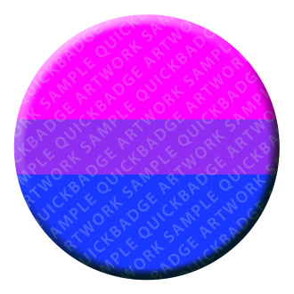 Bisexual Button Pin Badge