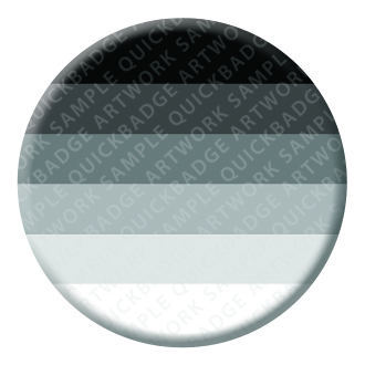 Heterosexual Button Pin Badge