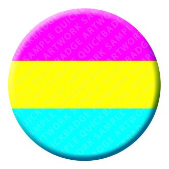 Pansexual Button Pin Badge