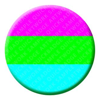 Polysexual Button Pin Badge
