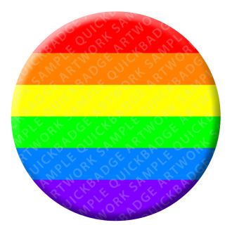 LGBTQ Gay Button Pin Badge