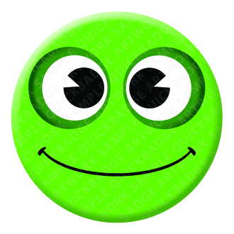 Frog Button Pin Badge
