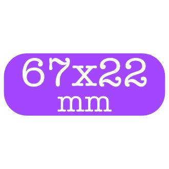 Custom Stickers 67x22mm
