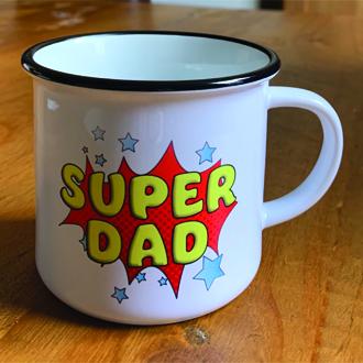 Super Dad Ceramic Camper Mug 8oz