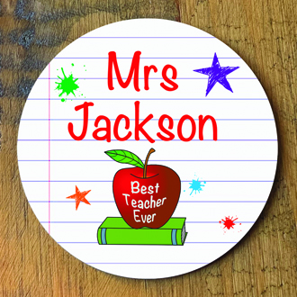 Teacher Personalised Coaster