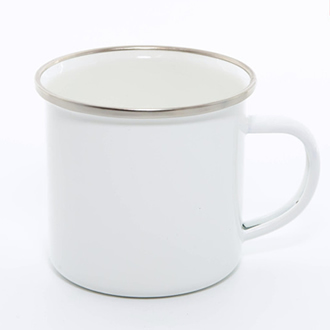 Custom Printed Enamel Mug 12oz