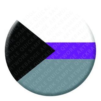 Demisexual Pride Button Pin Badge