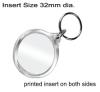 Clear Acrylic Keyring QB-i1