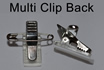 Multi Clip Back