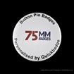 75mm (3 inch) Custom Pin Badges