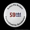 59mm ( 2 1/4 inch) Custom Fridge Magnets