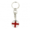 England Shopping Trolley Keyring