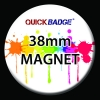 38mm (1 1/2 inch) Custom Fridge Magnets