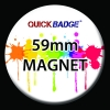 59mm (2 1/4 inch) Custom Fridge Magnets