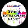 59mm Bottle Opener Fridge Magnet