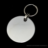 30mm Chrome Or Brass Disc Pet Tag