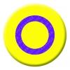 Intersex Button Pin Badge