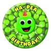 Ha-Pea Birthday Badge