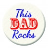 This Dad Rocks Badge