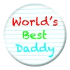 Worlds Best Daddy Badge
