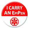 I Carry an EpiPen Badge