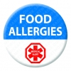 Food Allergies Alert Badge