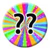 Rainbow Starburst Badge