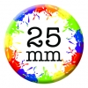 25mm (1inch) Custom Button Pin Badges