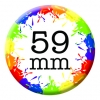 59mm (2 1/4 inch) Custom Button Pin Badges