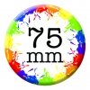 75mm (3 inch) Custom Button Pin Badges