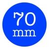 Custom Stickers 70mm Round