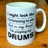 Musicians Ceramic Mug 10oz