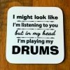 Musician Personalised Coaster