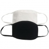 Reusable Cloth Masks 5x7in 4 Layer Cotton (Pack of 5)