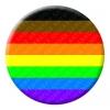 More Colour More Pride Button Pin Badge