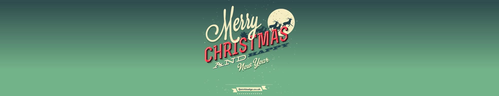 Quickbadge Christmas